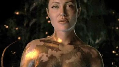 Photo of Viewers' Delight: Angelina Jolie to appear as 'nude beauty' in the movie Beowulf
