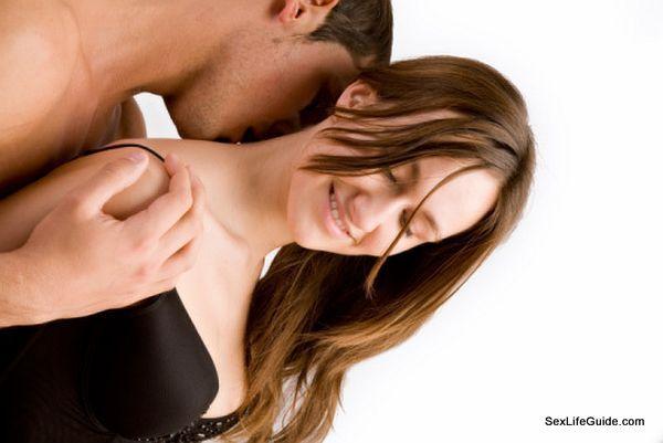 Kiss on her shoulder 2