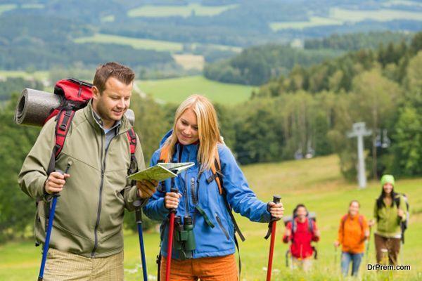 Enrol for Hiking Trails