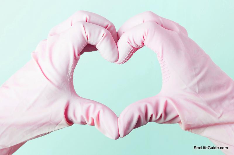 cleaner gloves for hand job