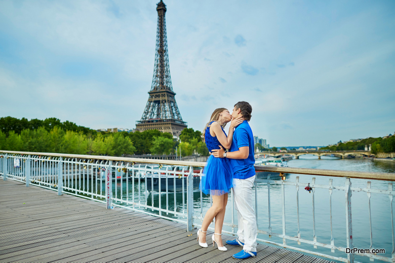 Paris is one of the sexiest spots to visit
